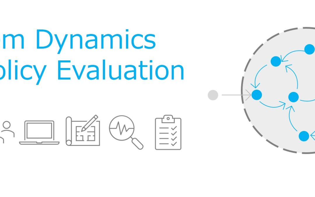 CECAN Webinar: How can System Dynamics Support Policy Evaluation?