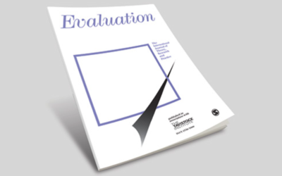 CECAN Special Issue of the Journal 'Evaluation': Policy Evaluation for a Complex World